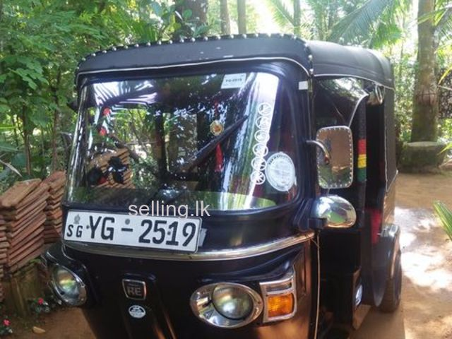 Bajaj tree Wheeler