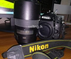 D7000 For Sell / 55mm - 300mm Lense