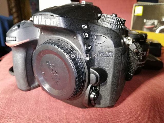 D7200 Camara For Sale