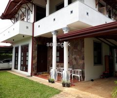 house for rent @ bauddhaloka mw,kurunegala