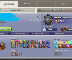 TH 10 COC BASS Gems 5700