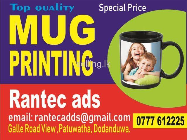 mug printing Rantec ads Galle