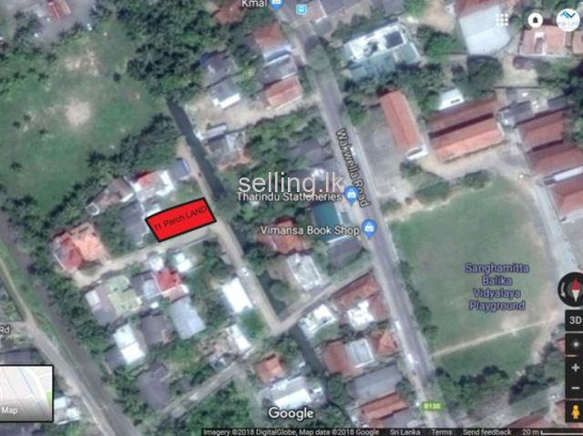Land for sale Galle Samgamitta