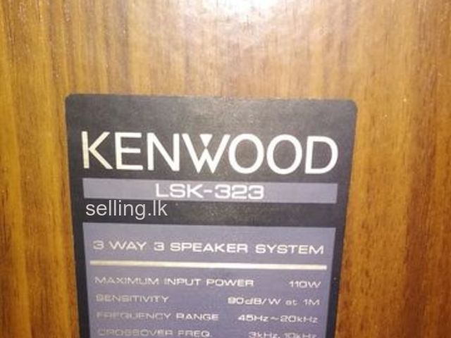 Speakers - Kenwood