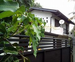 2 Storied House for Rent in Ganemulla Town.