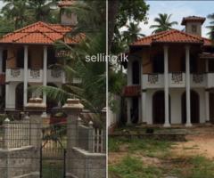 Two story house & land for sale in Uswetakeiyawa
