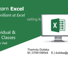 Microsoft Excel Class