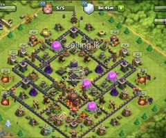 clash of clans TH 10 base
