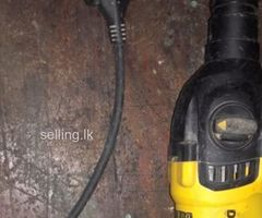 Dewalt dual hammer drill for sale