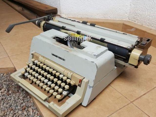 Sinhala type typewriter