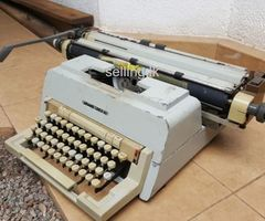 Sinhala type typewriter