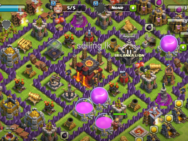 Clash of clans level 10 village (max)