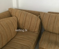 Five seated sofa