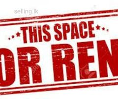 VALUABLE COMMERCIAL PROPERTY FOR RENT IN HEART OF KANDY