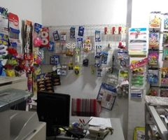 Book shop & Communication for Rent with Goods Boralesgamuwa