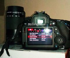 Canon 80D with two Lenses