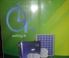 Solar & generator