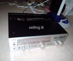 Sony vintage amplifier