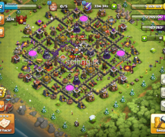 Clash of clans base th10 half max