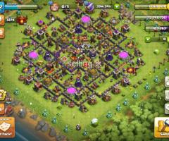 Clash of clans base th10 half max
