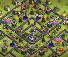 COC TH9 max with 6000+ GEMS