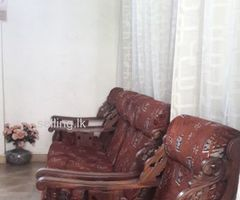 Wooden sofa set for sale