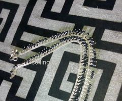 Leg chain silver for sale