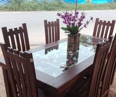 take dining table with 6 chairs