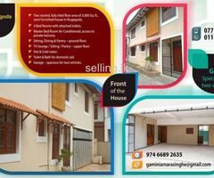 Nugegoda – Two storied house for rent in a quiet residential area.