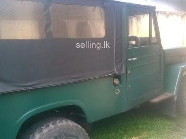 Mitsubishi 4DR5 j44 Jeep for sale