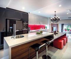 Design Colorful Kitchen Pantry