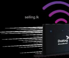 Dialog 4G Home broadband
