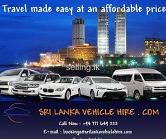 Sri Lanka Vehicle for  Hire