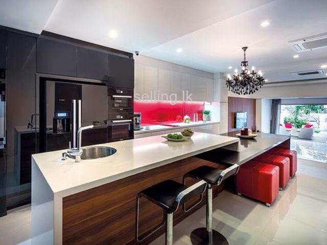 design colorful kitchen pantry wattala  sellinglk in sri
