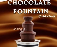 "CHOCOLATE FOUNTAIN HIRE ""Adding a touch of class to your event"""