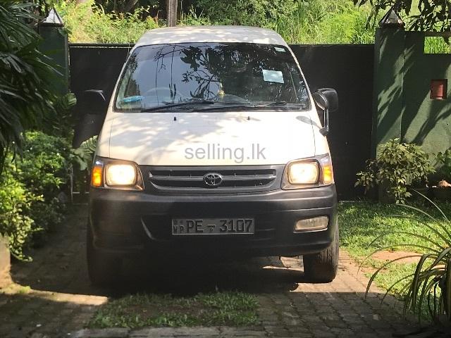 2005 townace noha type van