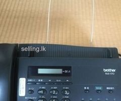 Brother FAX-170 used fax machine for sale