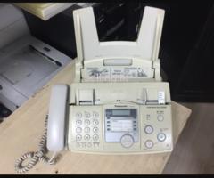 Panasonic KX-FP343 used fax machine for sale