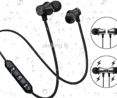 Magnetic Bluetooth Headset With Microphone