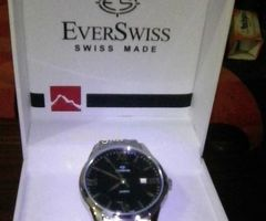 EVER SWISS GENTS WRIST WATCH FOR SALE