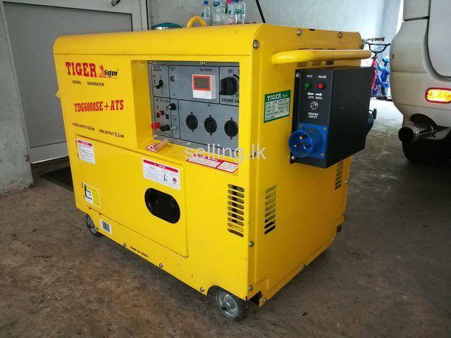 5kw diesel generator tiger for sale