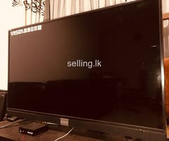 Television  singer for sale