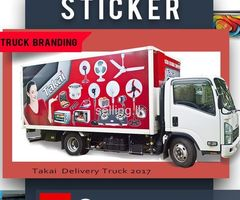 Lorry sticker - Vehicle Branding