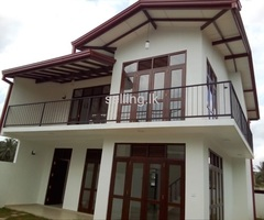New, two story house for sale in kadawatha