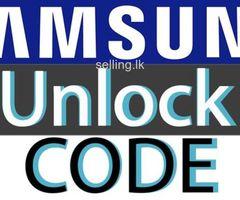 Samsung Unlocking service