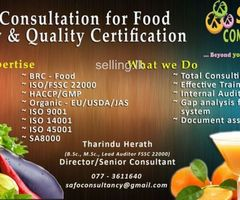Consultancy for the implementation of globally recognized ISO standards