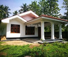 A land with newly built house for sale jn nattandiya