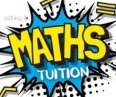 Math Tuition - Local/ Edexcel/ Cambridge