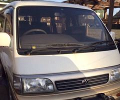 Hiace Super Custom Parts