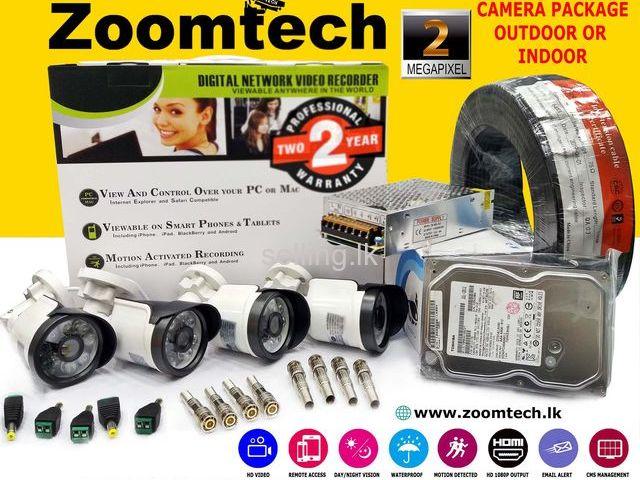 4 CH CCTV Camera Kit 2.4MP (Sony-Taiwan)